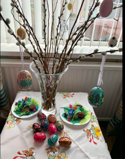 Hs Easter Tree